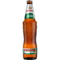 Cerveza rubia Obolon  pasteurizada 4,5% alc. 0,5 L