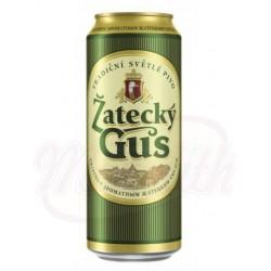 Cerveza clara Zatecky Gus  4,6% alc  0,9 L