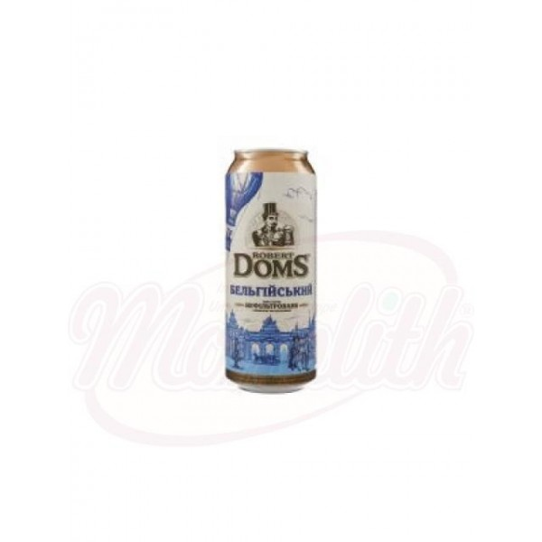 Cerveza Robert Doms Belga 4,3    0,5 L - España