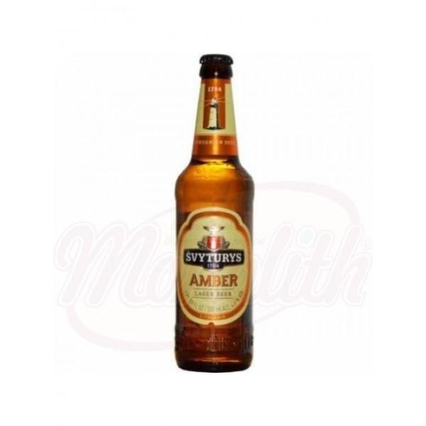 Cerveza Svyturys Amber 4,6 alc.   0,5 L - España