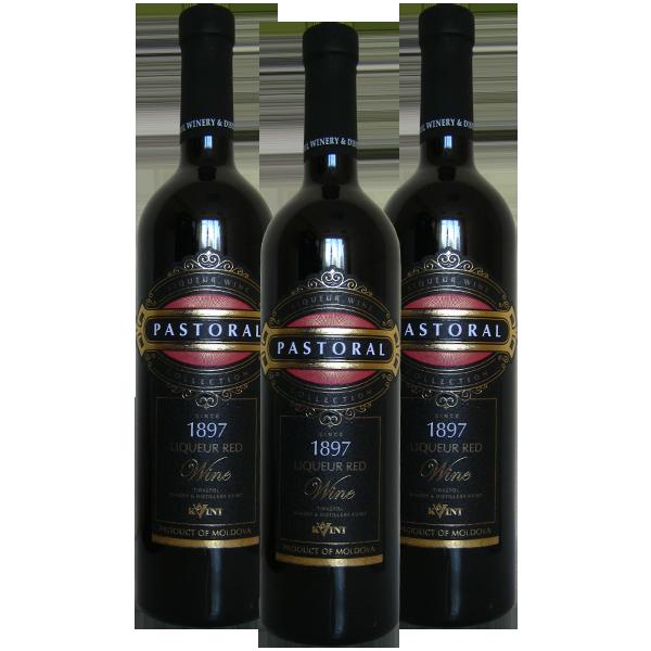 Вино Pastoral Kvint  красное ликерное  16 750 ml - Молдова