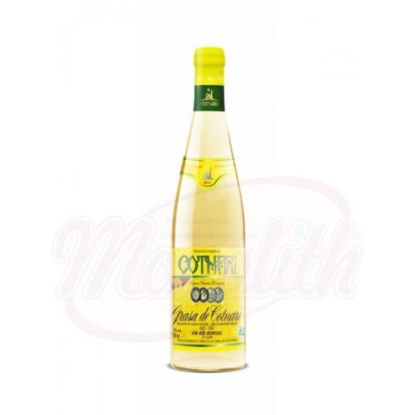 Vino  Grasa de Cotnari blanco  11,5 vol 750 ml - Rumanía