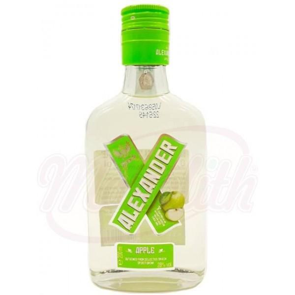 Vodka manzana Alexander Apple 0.2ml 28 Alexandrion - Rumanía