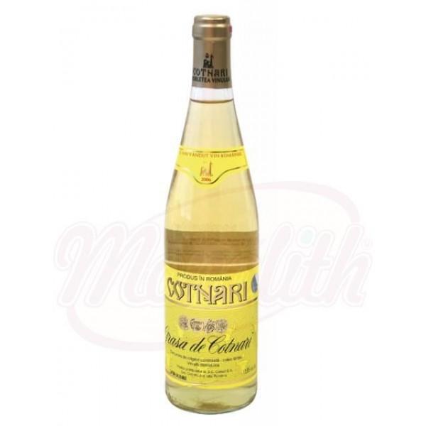 Vino Grasa de Cotnari  blanco semidulce 11.5 750 ml - Rumanía