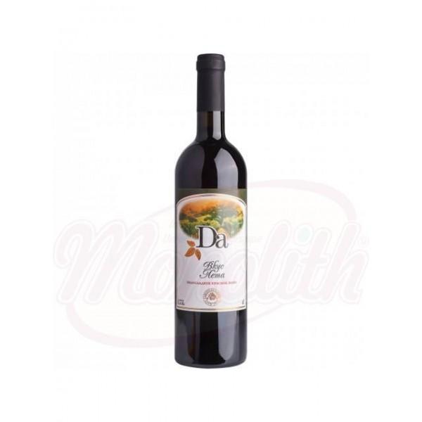 Вино  Da красное   полусладкое, 11,5 750 ml - Молдова