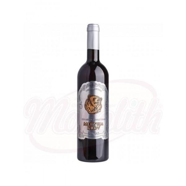Вино  Medveja Krov полусладкое  11,5 750 ml - Молдова