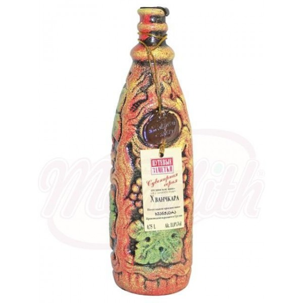 Bино  Хванчкара красное полусладкое 11 750 ml - Грузия
