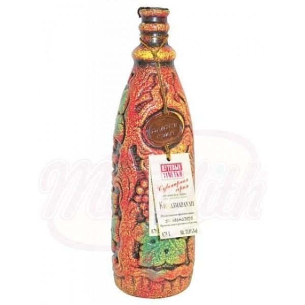 Вино  Киндзмараули красное сувенирное 11 750 ml - Грузия