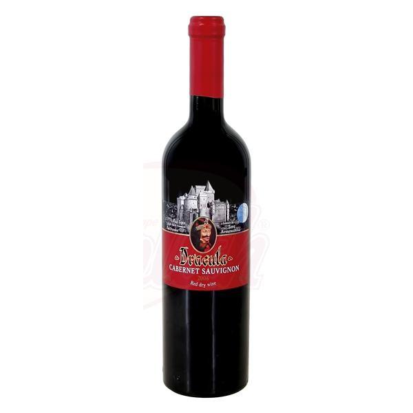 Bино  Dracula-Cabernet Sauvignon сухое 12,5 алк.750 ml - Румыния