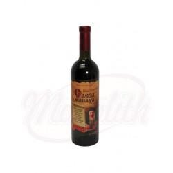 Vino  Lagrima de Monje  tinto semi dulce 11% 750 ml