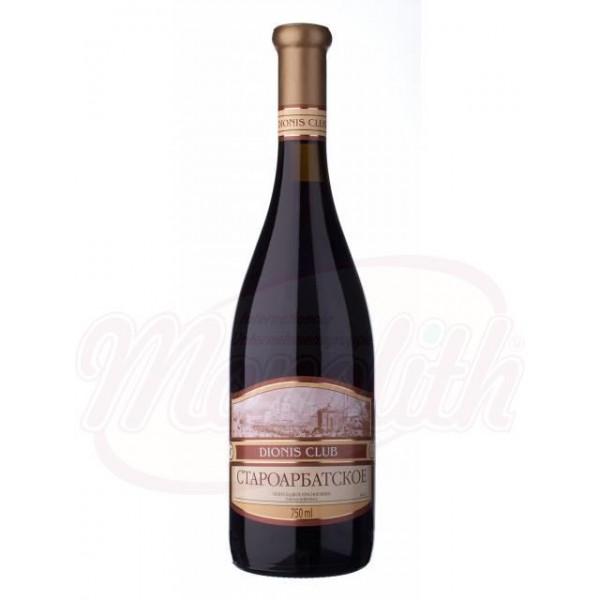 Vino Staroarbatskoe   tinto semi dulce 12 750 ml - Moldavia