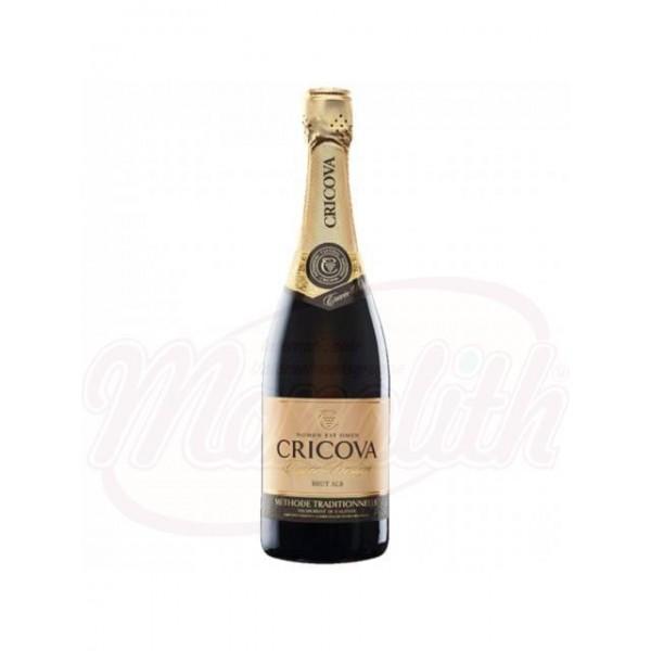Champagne Cuvee Prestige blanco brut Cricova - Moldavia