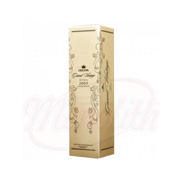 Champagne Grand Vintage blanco brut Cricova  0,75 L - Moldavia