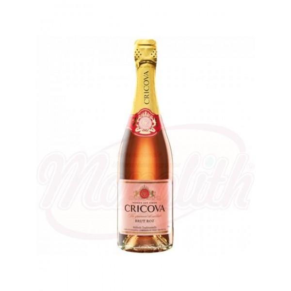 Champan brut rose Cricova 0,75 L - Moldavia