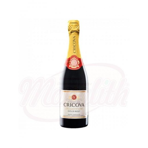 "Champan ""sweet red Cricova""  0,75 L - Moldavia"