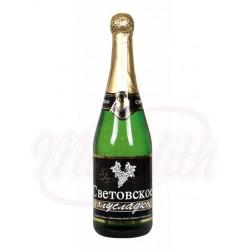 Champaña Sovetskoe beloye 0,75 L