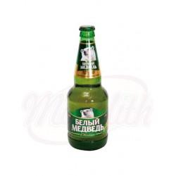 Cerveza clara Beliy Medved - Oso Blanco 0.5L