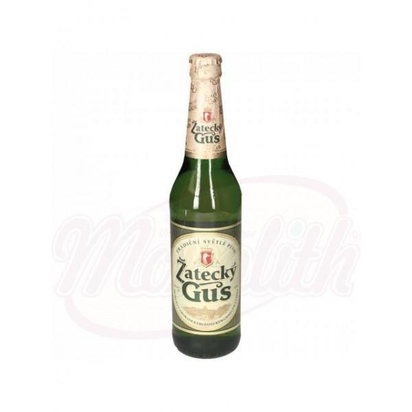 Cerveza clara Zatecky Gus 4,6 vol. 0,48 L - Alemania