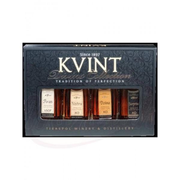 Brandy Kvint miniaturas 40 vol. - Moldavia