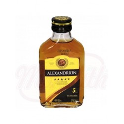 Коньяк Alexandrion 5*- алкогольный напиток, 37,5% алк. 100 ml
