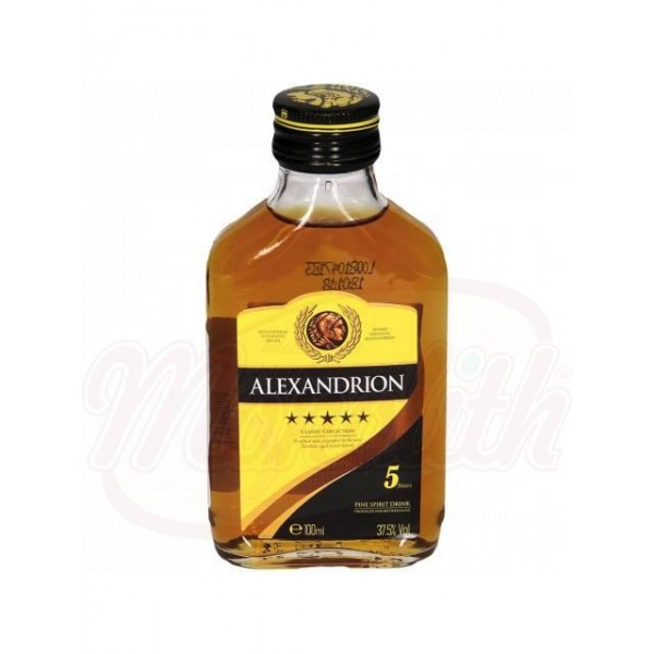 Brandy  Alexandrion 5* 37,5, 100 ml - Rumanía