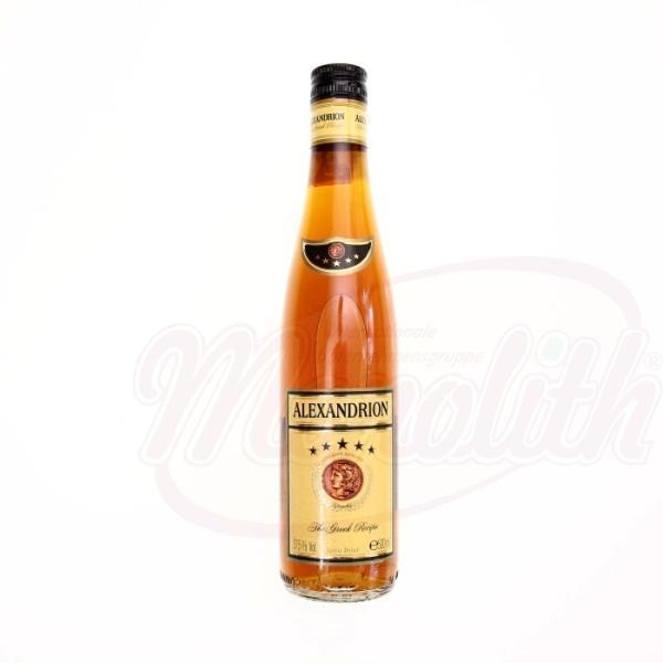 Brandy Alexandrion 5* 37,5 ,500 ml - Rumanía