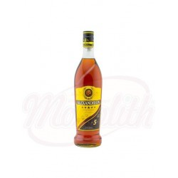 Коньяк Alexandrion 5  37,5% 1000ml