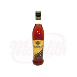 Brandy  Alexandrion 5*, 37,5% vol. 0,7L
