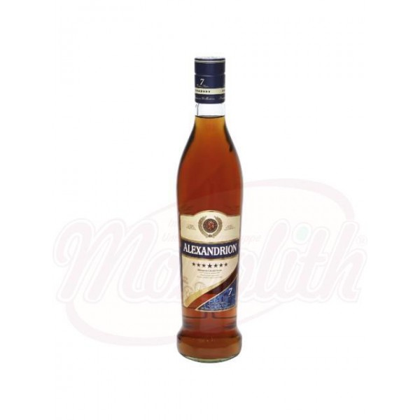 "Brandy  ""Alexandrion 7*"", 40 vol., 700 ml - Rumanía"