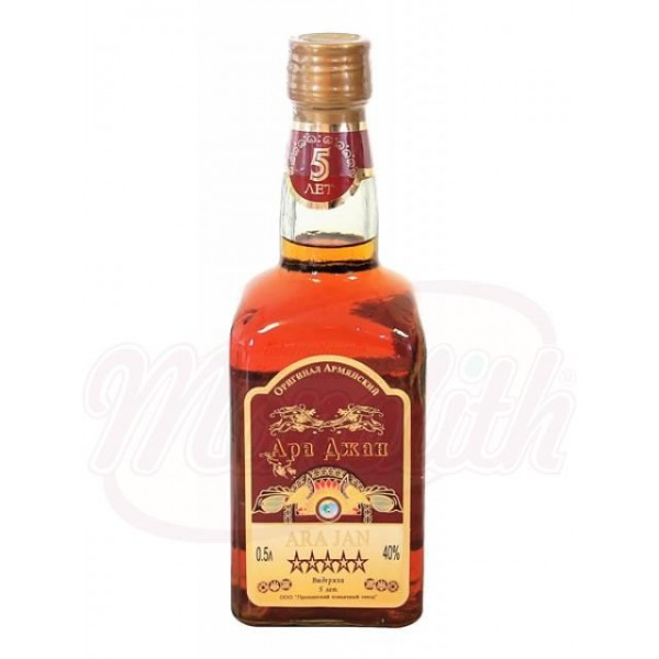 Brandy Armenio Ara Jan 40 vol 500 ml - Armenia