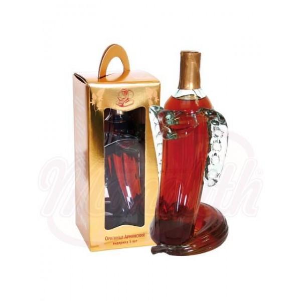 """Brandy armenio """"Cobra""""  40 0,5 L - Armenia"""