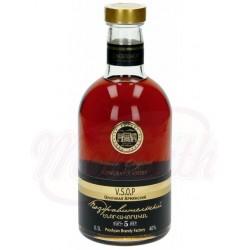Brandy armenio CONGRATULATORY 5 Jahre 40% alc. 0,5 L