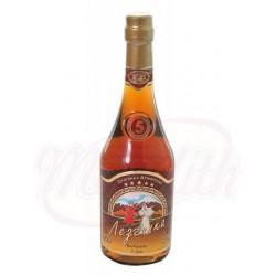 Армянский коньяк Лезгинка 5 лет выдержки 40% алк.  0,5 L