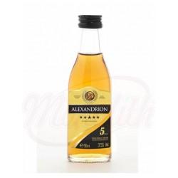 Brendy  Alexandrion 5* 37,5%, 50 ml