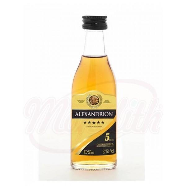 Brendy  Alexandrion 5* 37,5, 50 ml - Rumanía