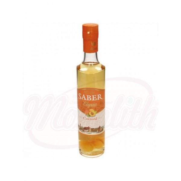 Licor Saber Elyzia Caisata de albaricoque con fruta  vol. 25 500 ml - Rumanía