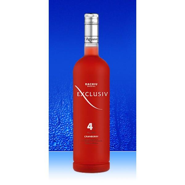 Vodka Exclusiv 4 cranberry 40 1 L - Moldavia