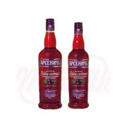 Vodka Arsenitch Arandanos Negros 40% 0,7 L