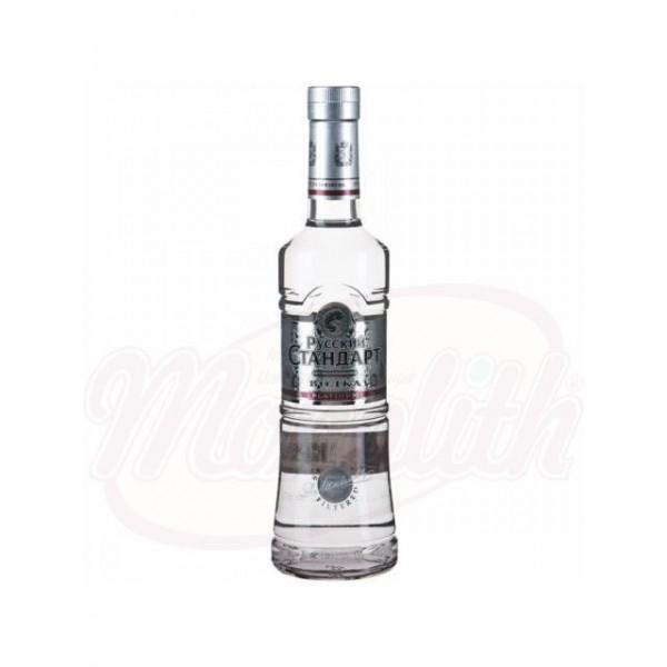Vodka Russian Standart 40 Platinum vol. 0,5 L - Rusia