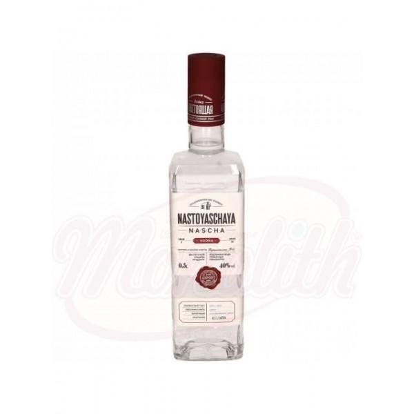 """Vodka """"Nastojastshaja"""" 40 alc. 0,5 L - Rusia"""