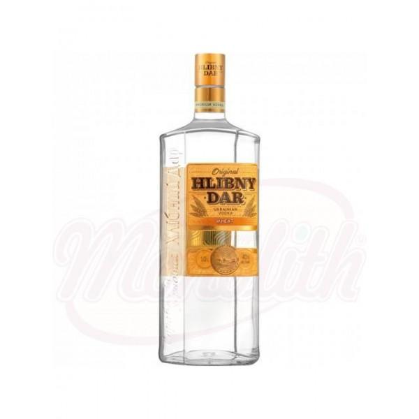 """Vodka Chlebnyi Dar - Wheaten"""" Alc. 40 vol. 1 L - Ucrania"""