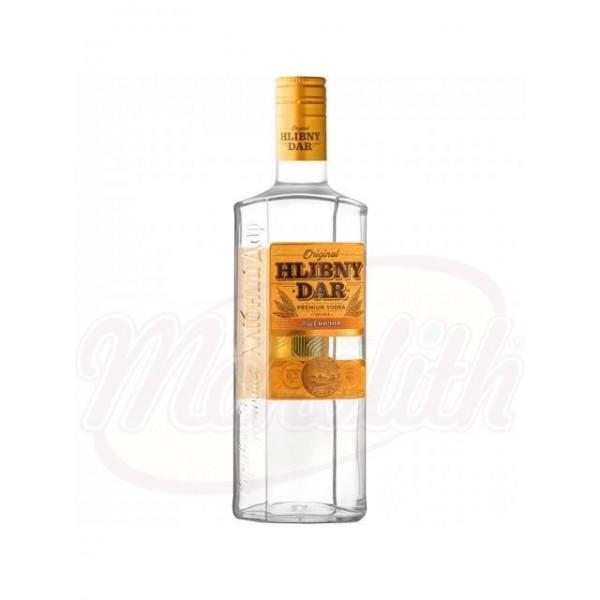 Vodka Hlibny Dar Pschenitschnaya  40% алк. 0,2 L