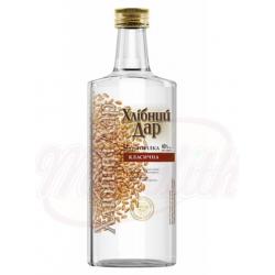 """Vodka """"Hlibny Dar"""" Classic Alc. 40% vol. 0,1L"""