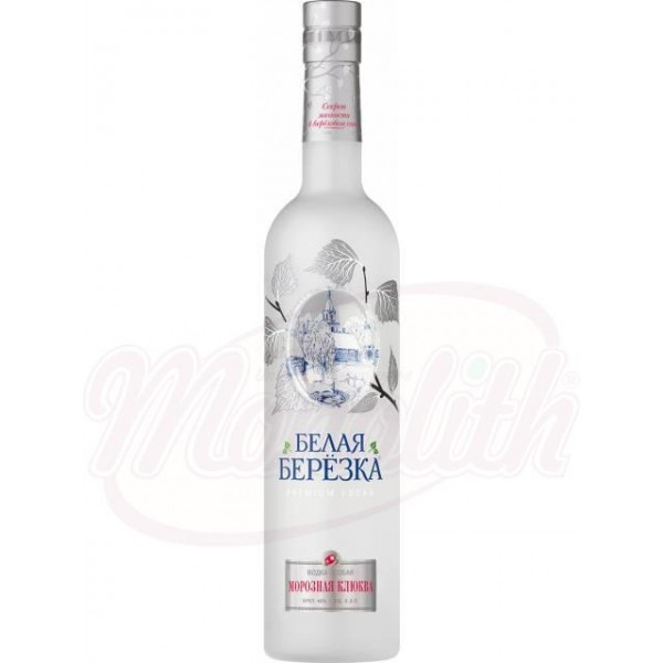 Водка  Белая Березка  Морозная клюква  40 0,5 L - Россия