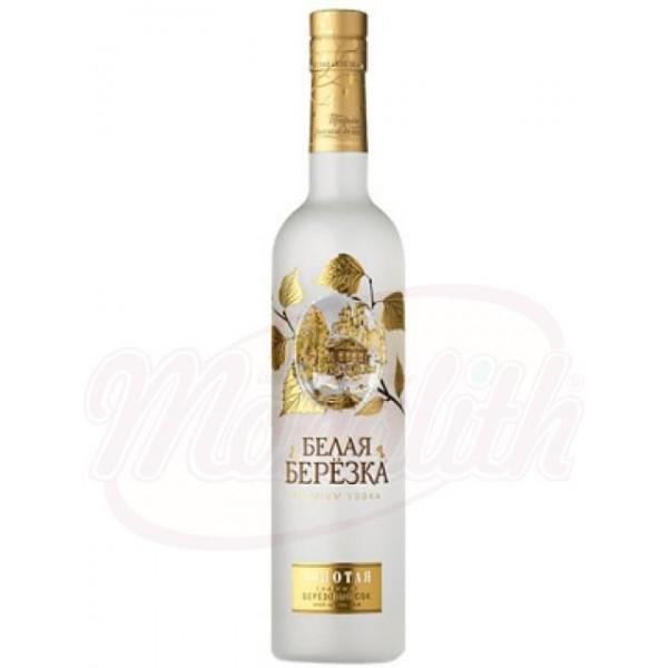 Vodka  Belaya Berezka  oro 40 0,5 L - Rusia