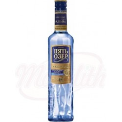 Vodka Five Lakes Premium 40% 0,5 L