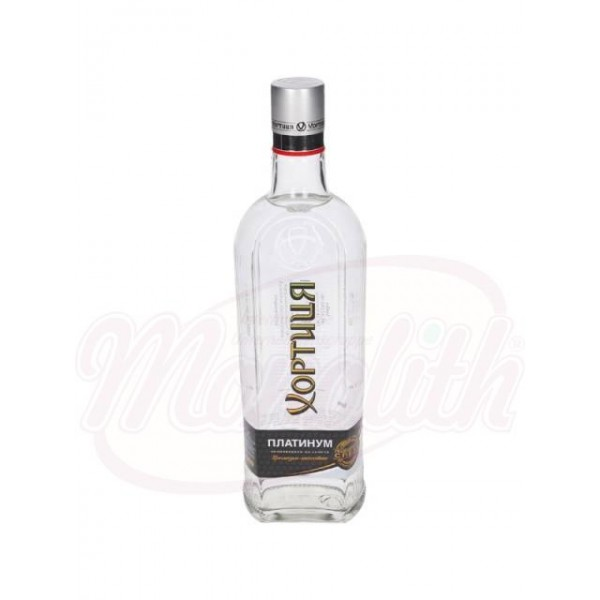 Водка Хортица Платинум 40 алк.   0,7 L - Украина