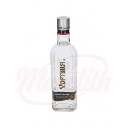 Vodka Khortitsa Platinum 40% de alcohol 0,5 L
