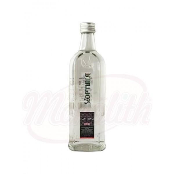Vodka Khortitsa Platinum 40 de alcohol  1 L - Ucrania