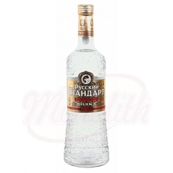 "Водка ""Русский Стандарт Голд"" 40 алк. 0,5 L - Россия"